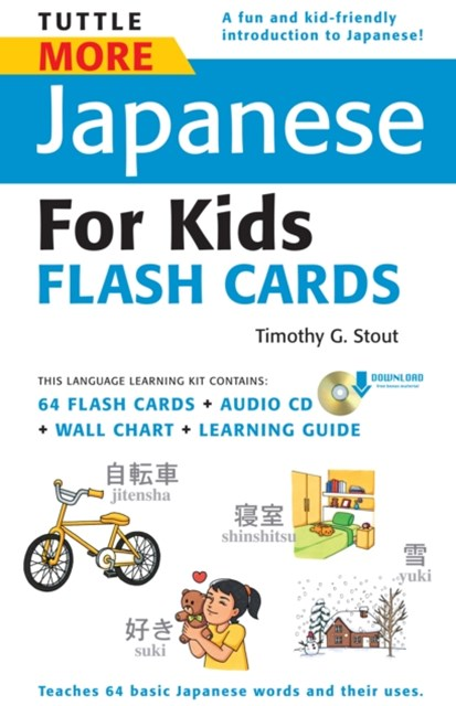 Tuttle More Japanese for Kids Flash Cards Kit Ebook