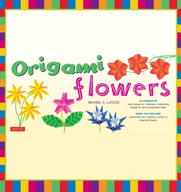 Origami Flowers Ebook