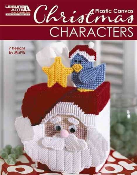 Christmas Characters in Plastic Canvas (Leiusre Arts #5829)