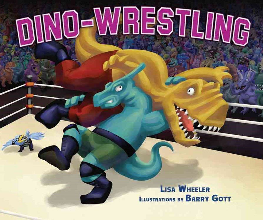 Dino-wrestling Library Edition