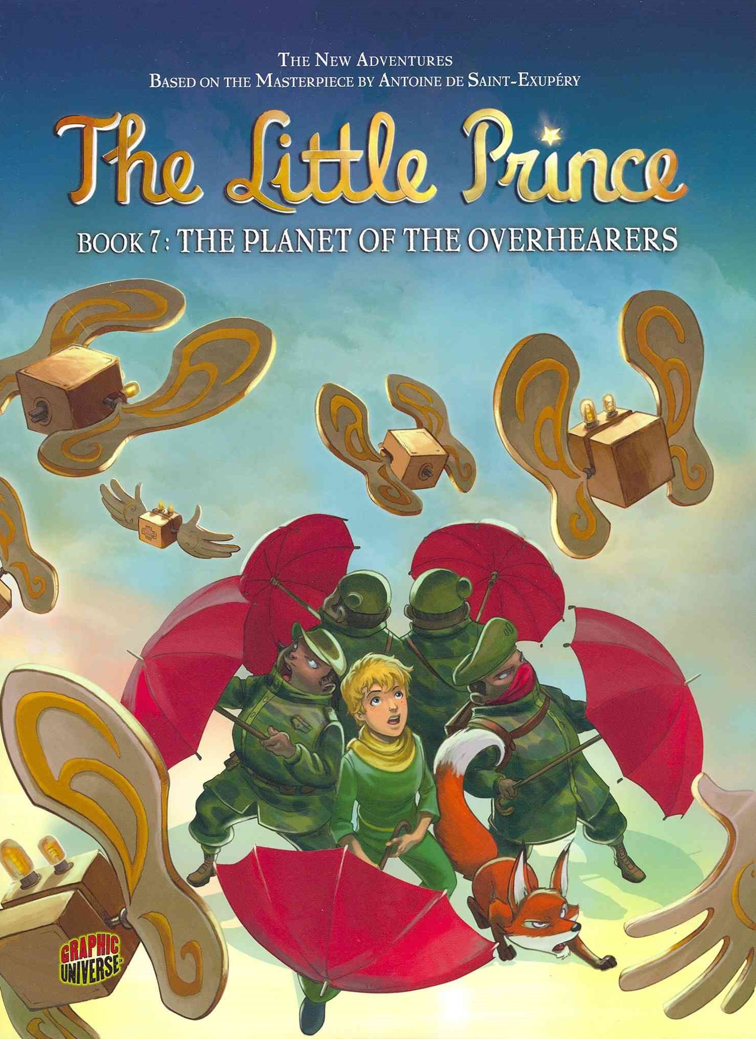 The Little Prince Book 7: The Planet Of The Overhearers