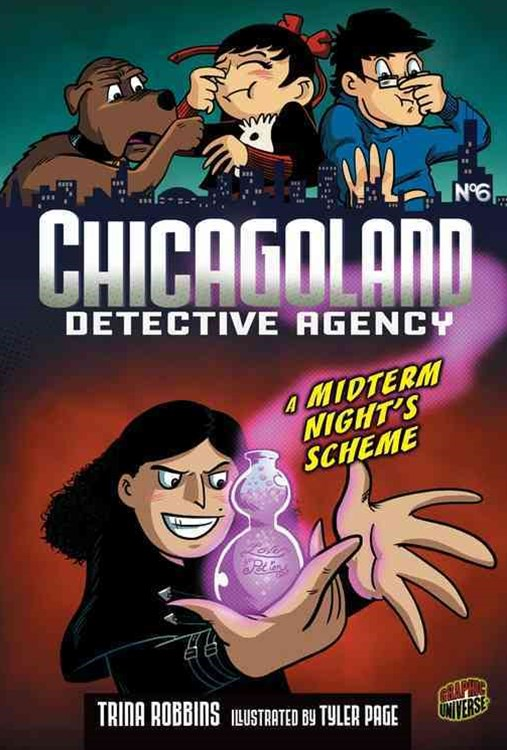 Chicagoland Detective Agency Book 6: A Midterm Night's Scheme