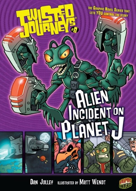 #8 Alien Incident on Planet J