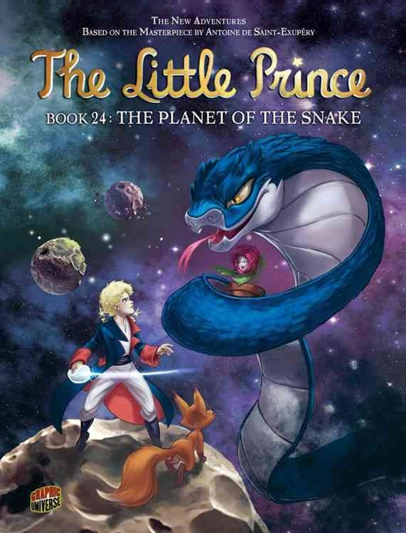 The Planet Of The Snake #24  The Little Prince series