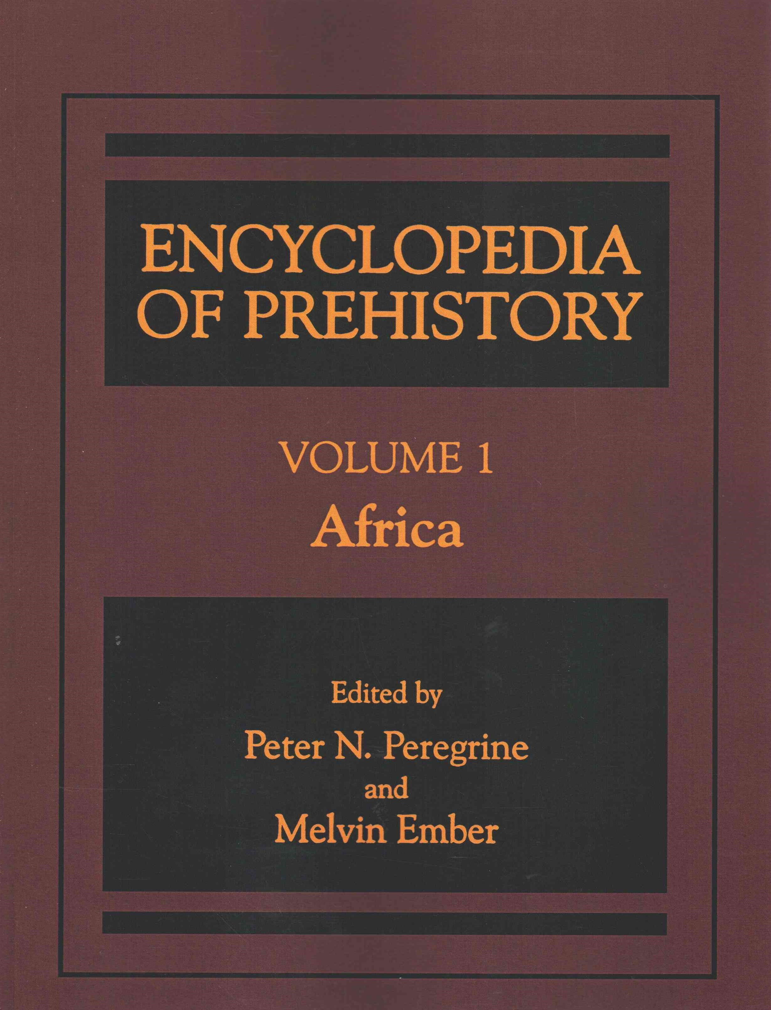 Encyclopedia of Prehistory: Africa