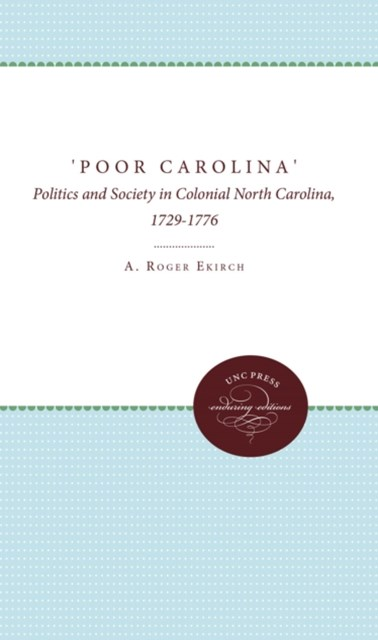 (ebook) 'Poor Carolina'