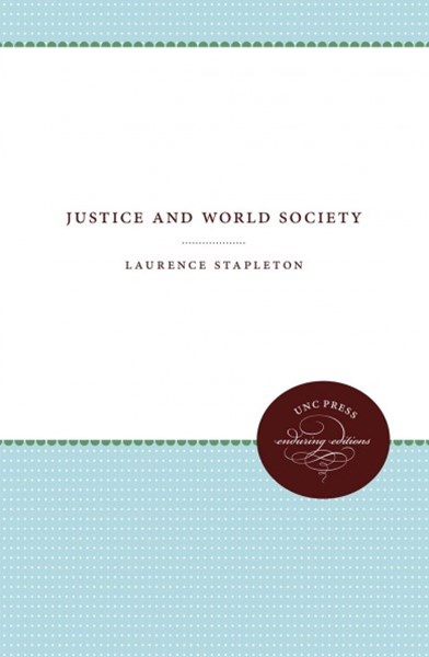 Justice and World Society