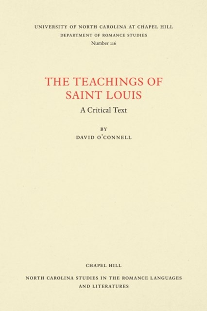 Teachings of Saint Louis