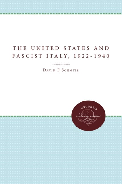United States and Fascist Italy, 1922-1940