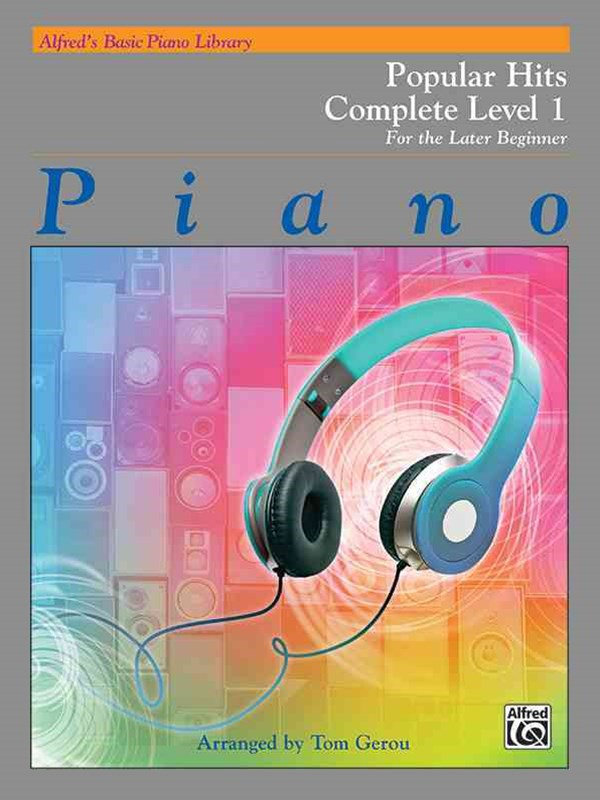 Alfred's Basic Piano Library Popular Hits Complete, Bk 1