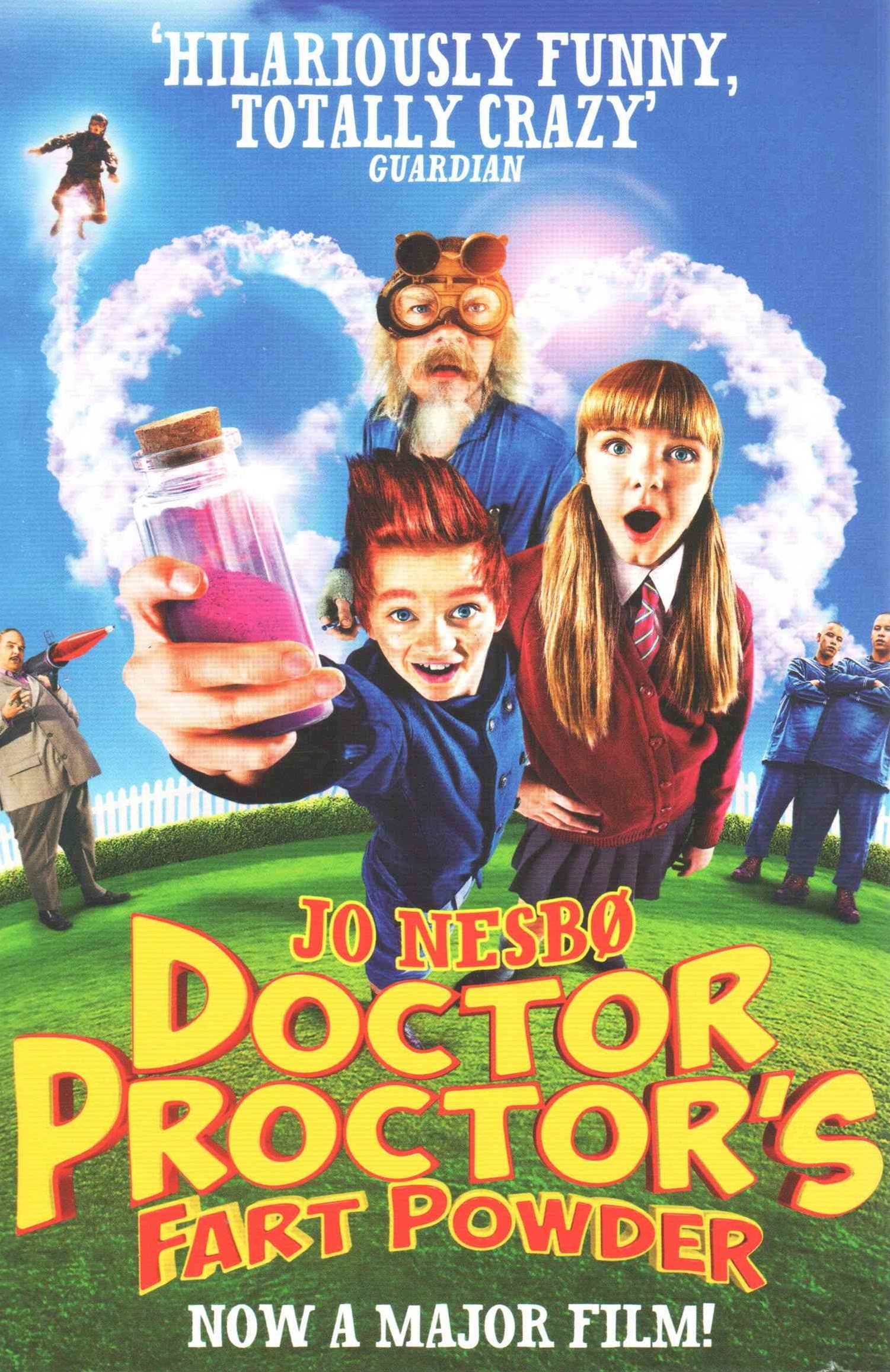 Doctor Proctor's Fart Powder; movie tie-in