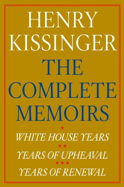Henry Kissinger The Complete Memoirs eBook Boxed Set