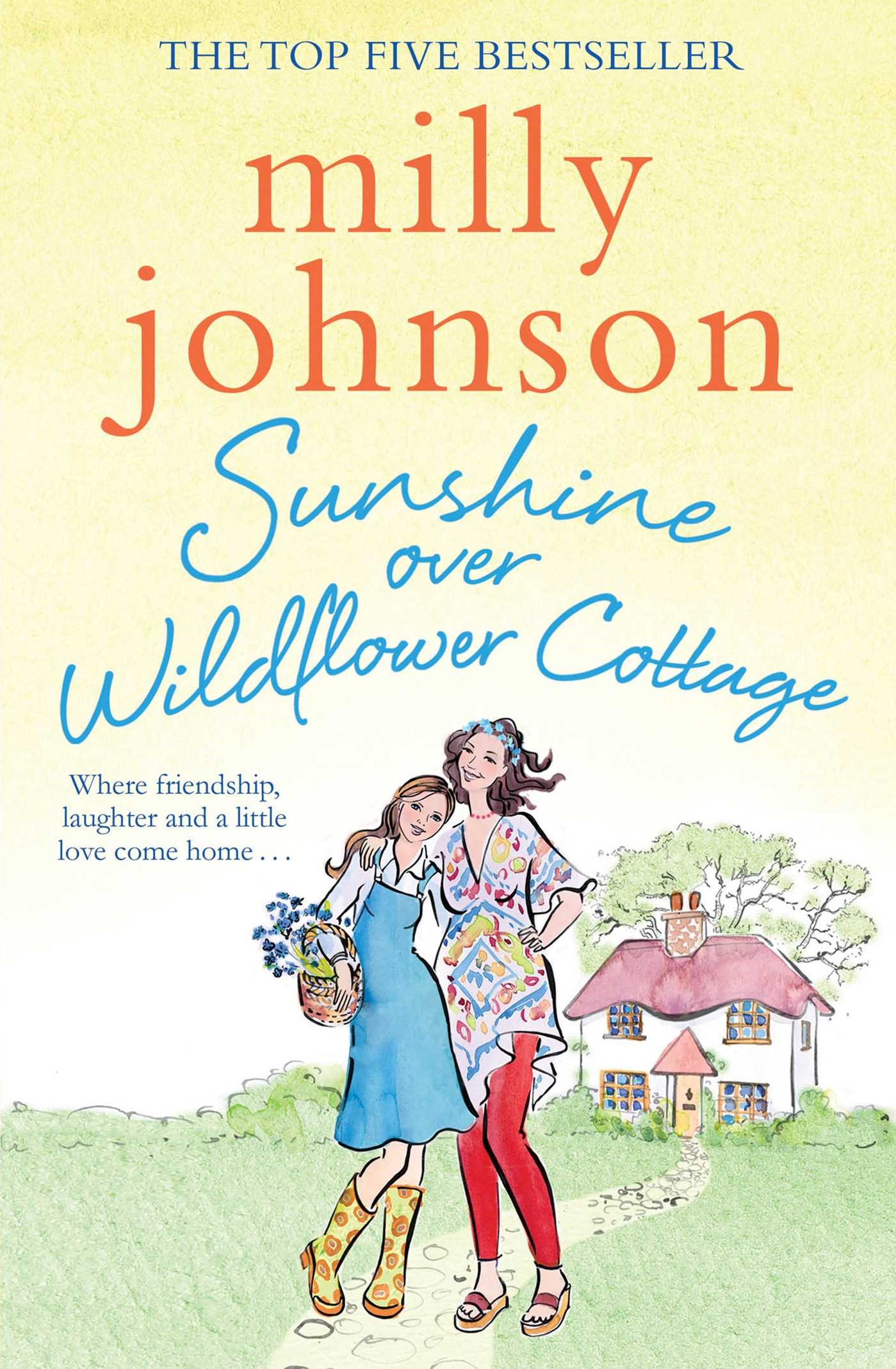 Sunshine Over Wildflower Cottage