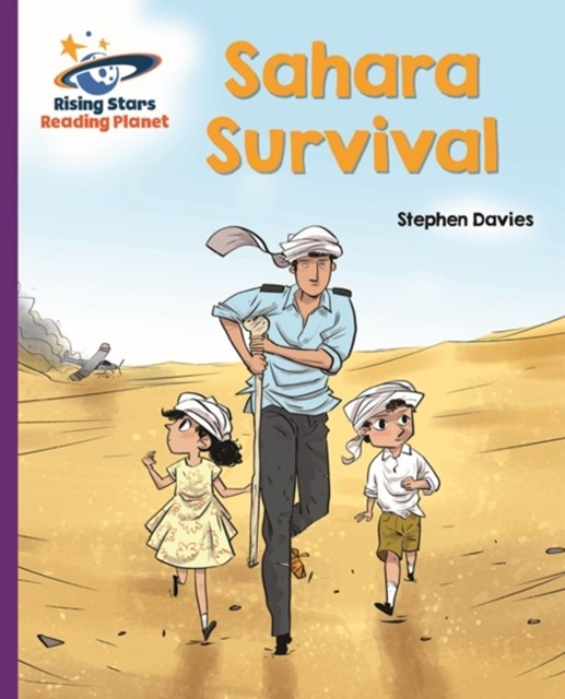 Reading Planet - Sahara Survival - Purple: Galaxy