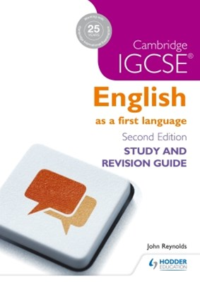 (ebook) Cambridge IGCSE English First Language Study and Revision Guide