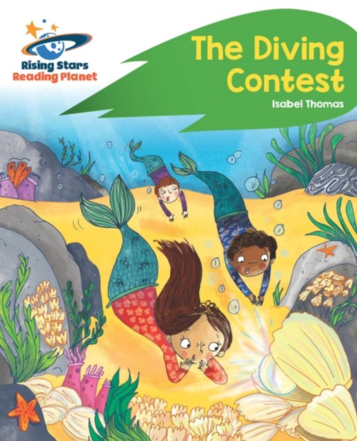 Reading Planet - The Diving Contest - Green