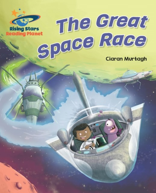 Reading Planet - The Great Space Race - Turquoise