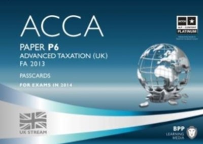 ACCA Options P6 Advanced Taxation (FA 2013)Passcards 2014