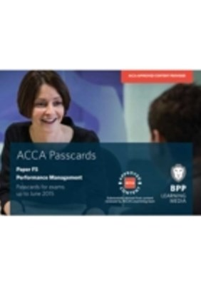 ACCA Skills F5 Performance Management Passcards 2014