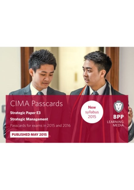 CIMA - E3   Strategic Management