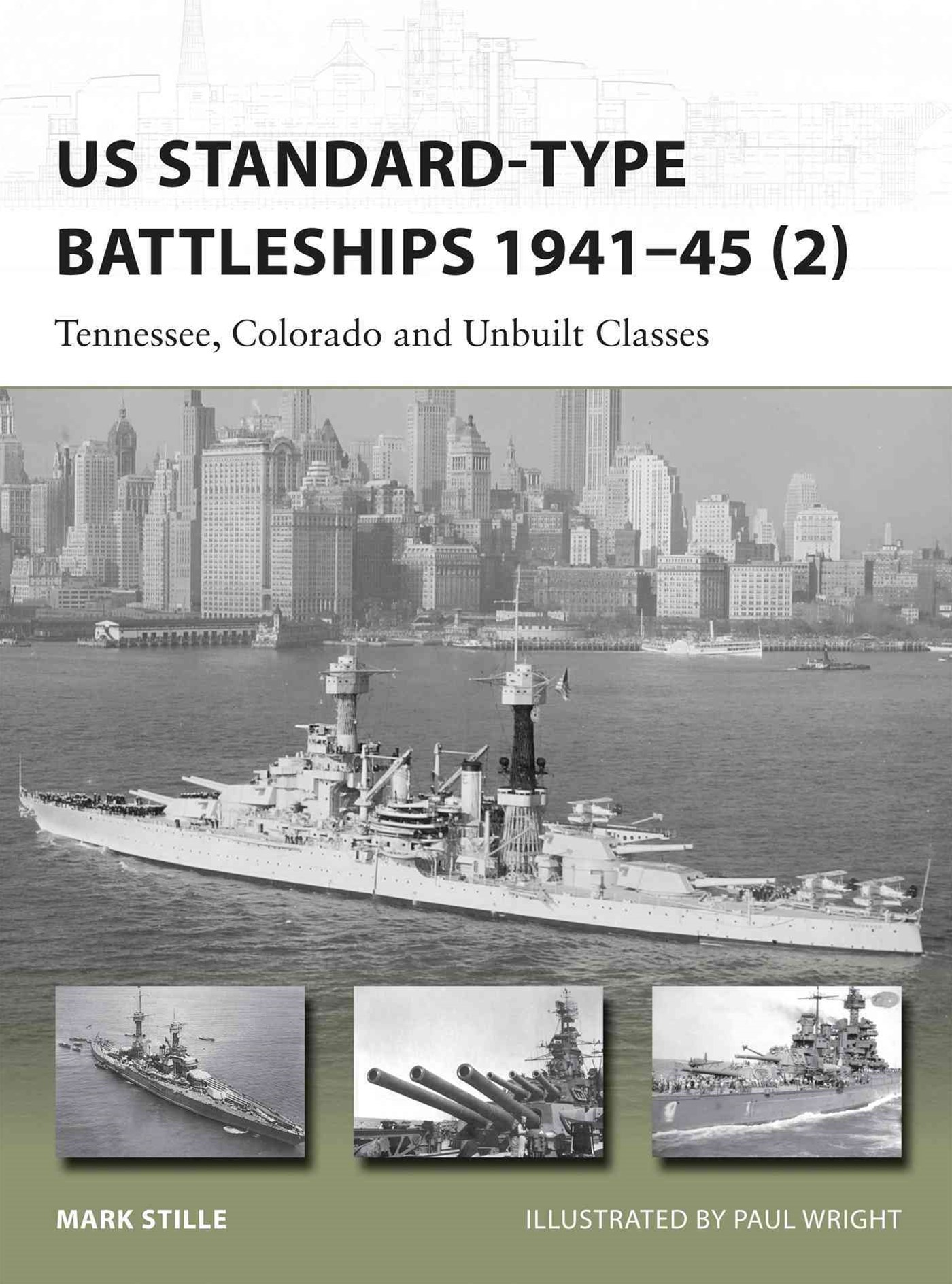 US Standard-Type Battleships 1941-45
