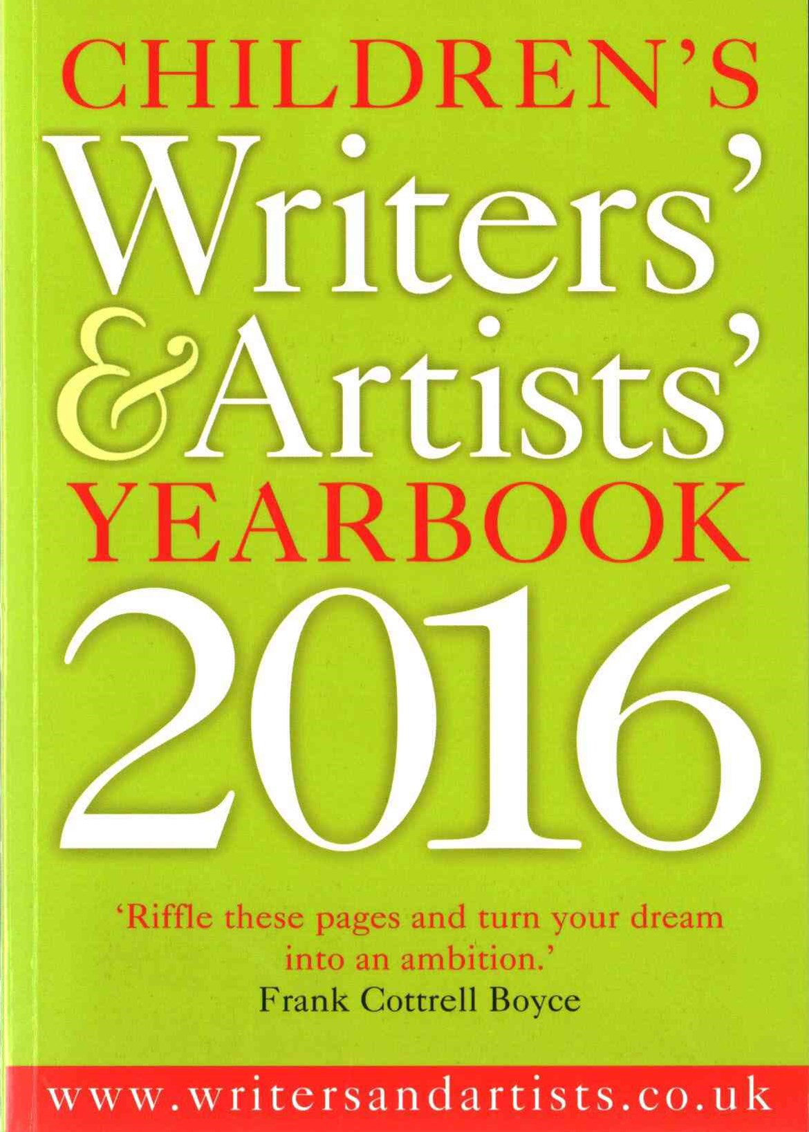 Children's Writers' and Artists' Yearbook 2016