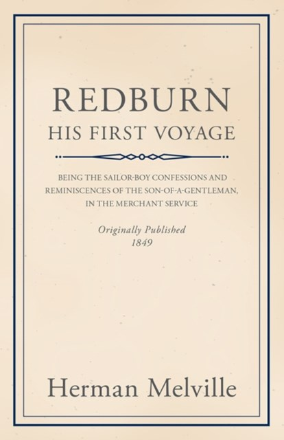 Redburn - His First Voyage