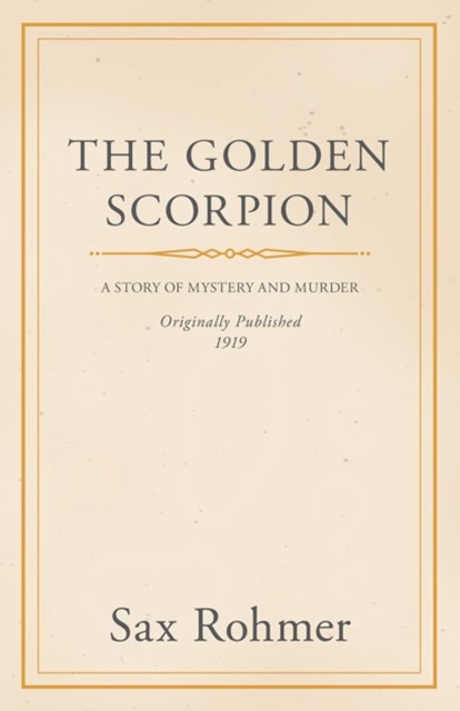 (ebook) Golden Scorpion