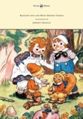 (ebook) Raggedy Ann and Betsy Bonnet String - Illustrated by Johnny Gruelle