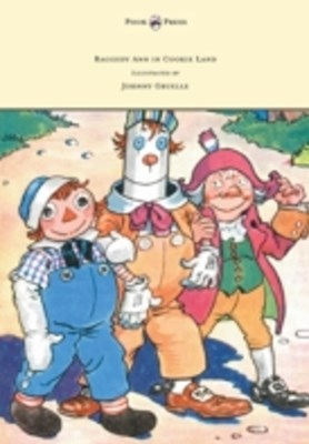 (ebook) Raggedy Ann in Cookie Land - Illustrated by Johnny Gruelle