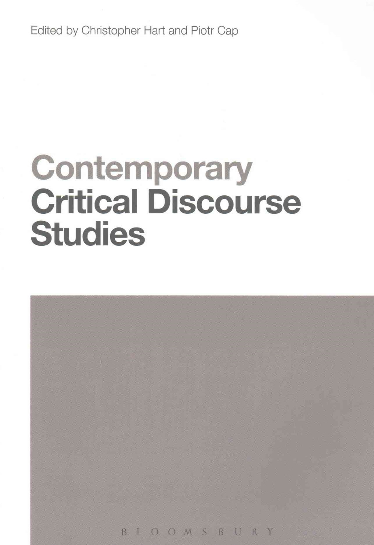 Contemporary Critical Discourse Studies