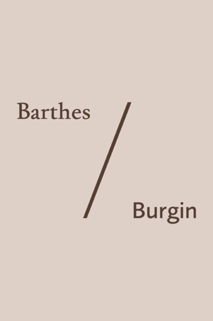 (ebook) Barthes/Burgin