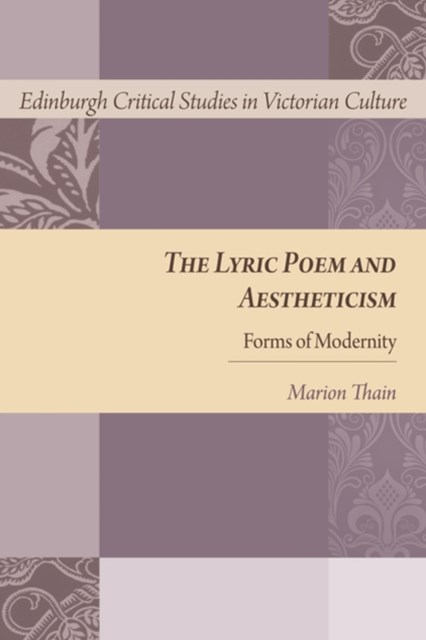 Lyric Poem and Aestheticism