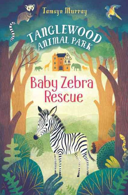 TangleWood Animal Park (1): Baby Zebra Resue