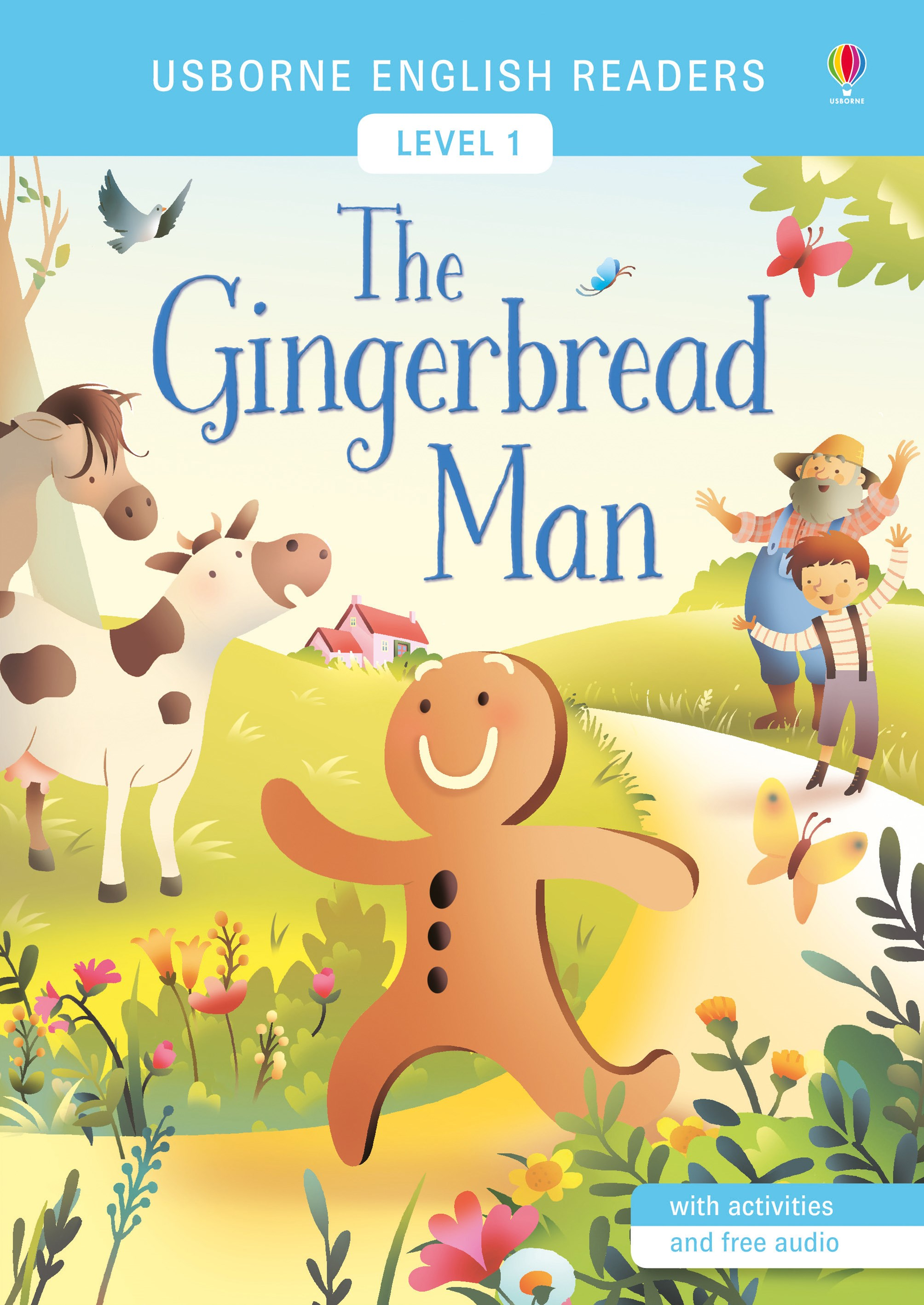 Usborne English Readers: The Gingerbread Man
