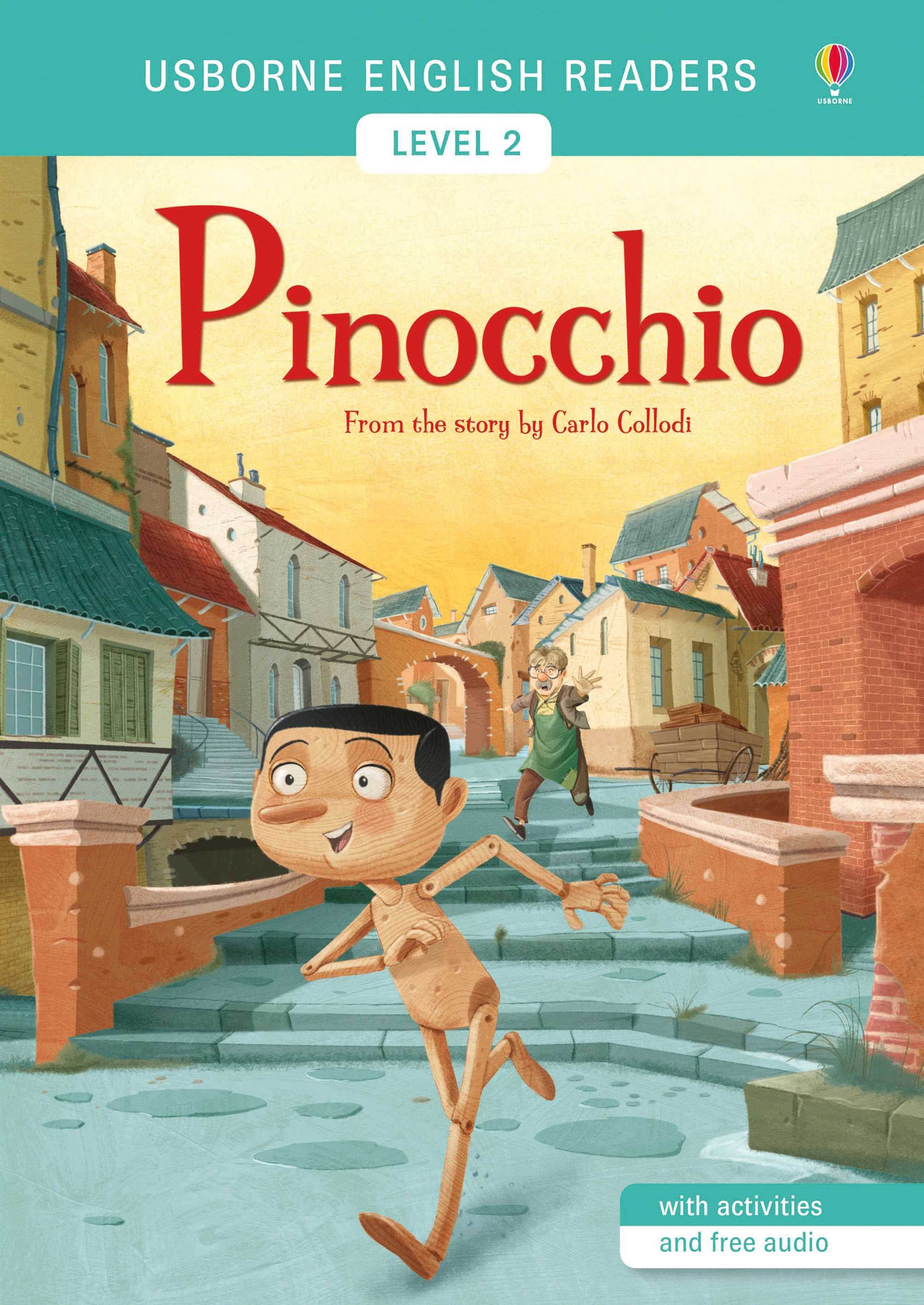 Usborne English Readers: Pinocchio