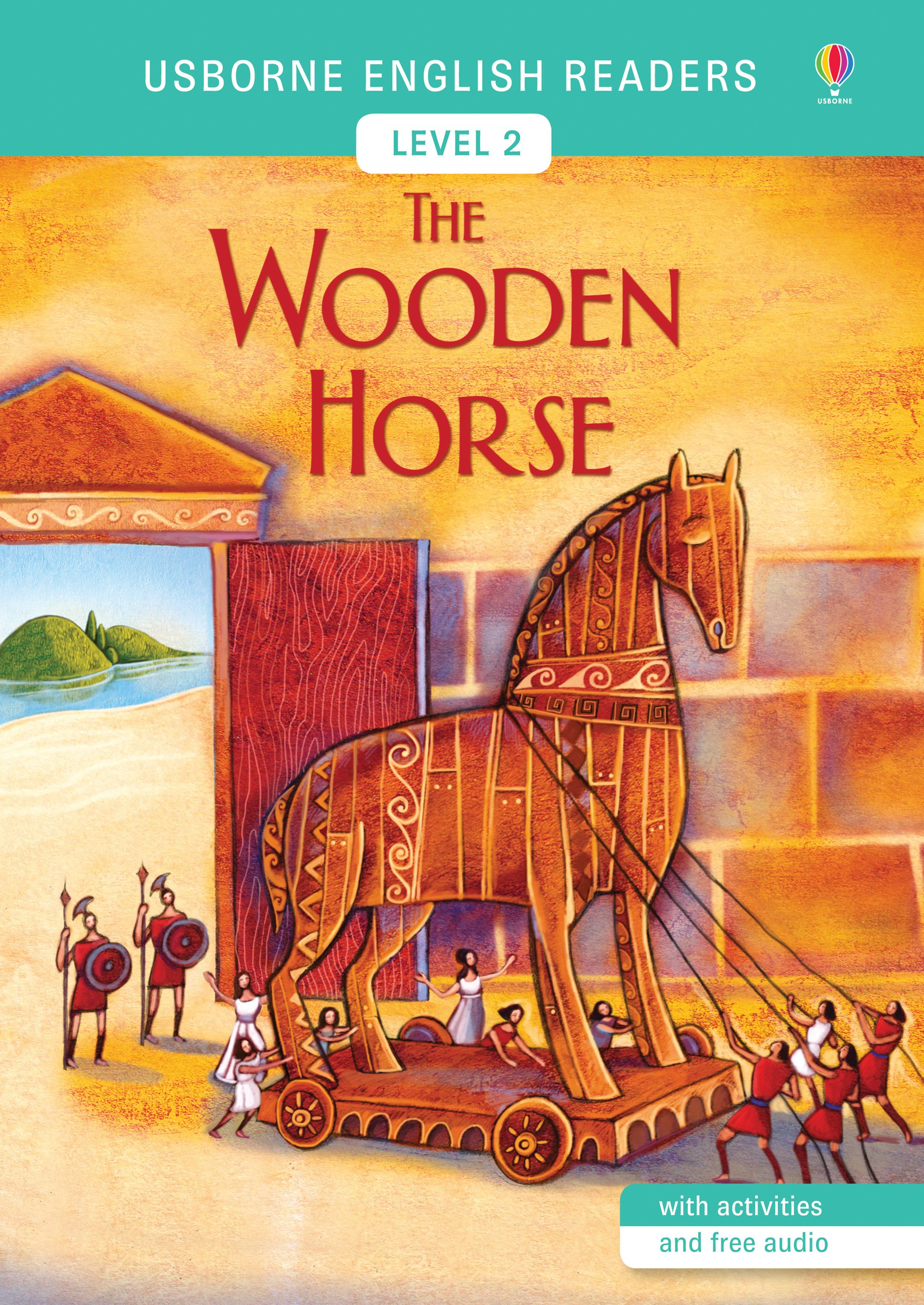 Usborne English Readers: The Wooden Horse