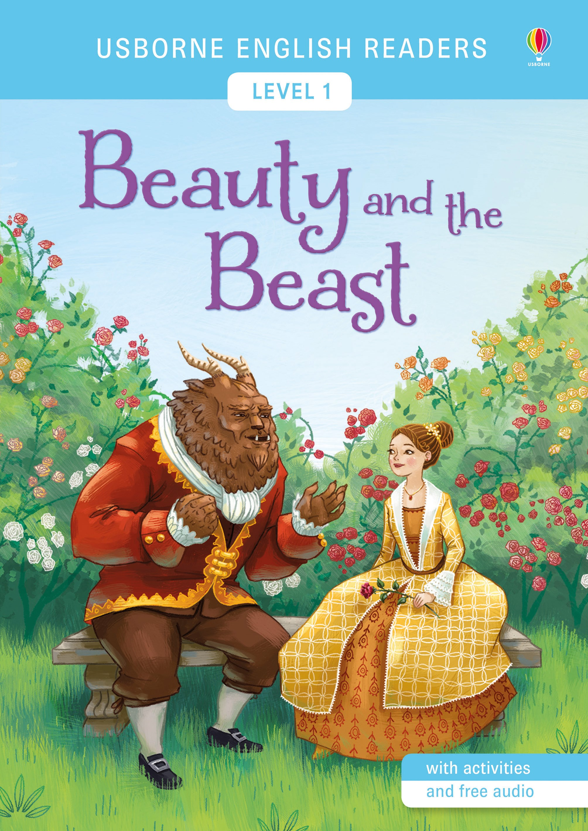Usborne English Readers: Beauty and the Beast