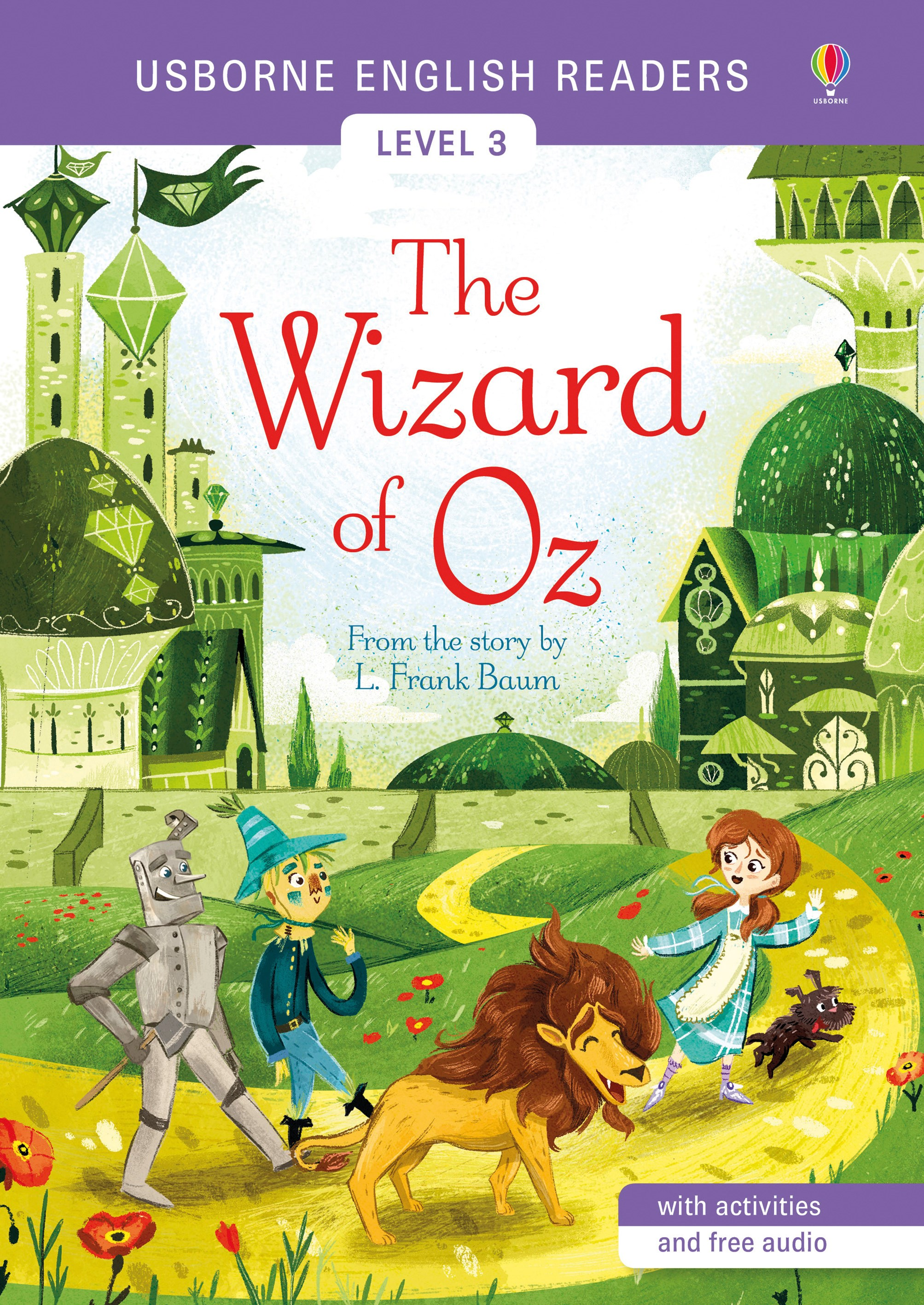 Usborne English Readers: The Wizard of Oz