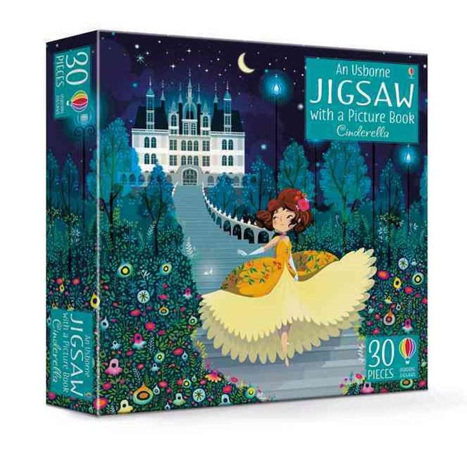 Usborne Jigsaw Cinderella with a Picture Book