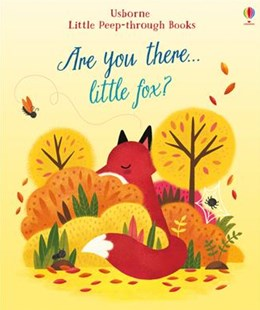 Little Peep-Through: Are You There Little Fox? - Children's Fiction Early Readers (0-4)