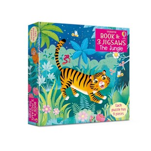 Usborne Book and Jigsaw: The Jungle - Picture Books Gift & Novelty