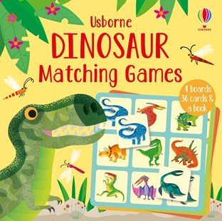 Dinosaur Matching Games - Non-Fiction Animals