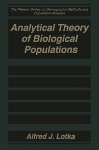 (ebook) Analytical Theory of Biological Populations - Politics Political Issues