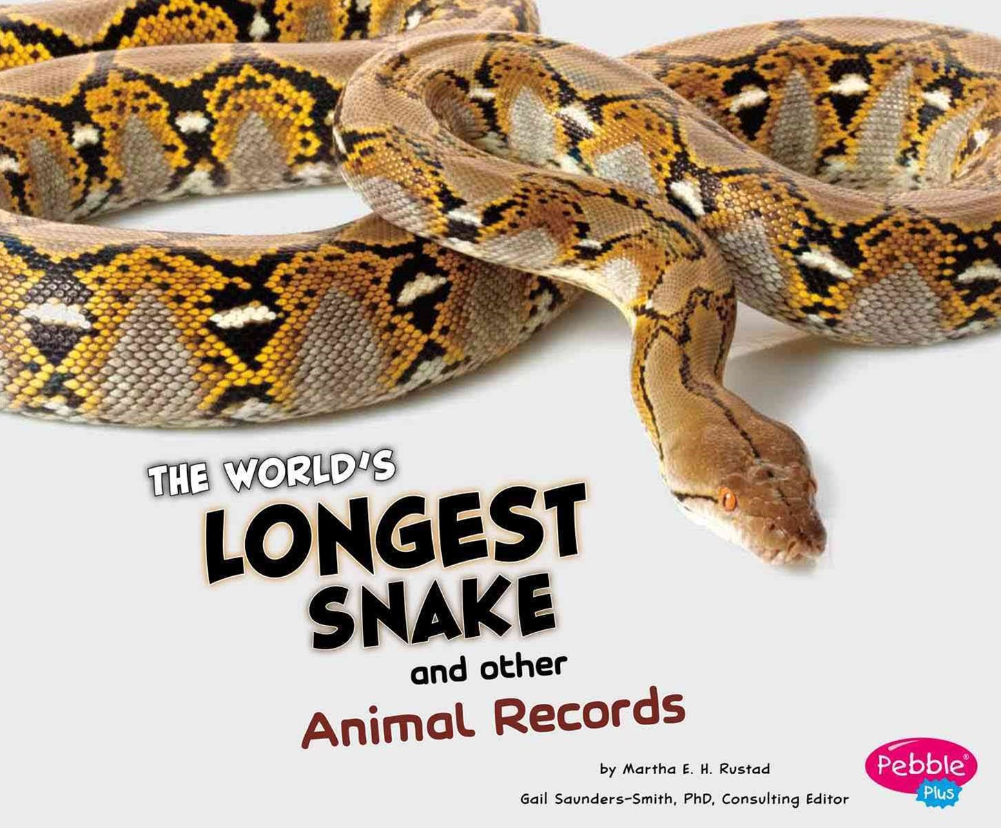 World's Longest Snake and Other Animal Records