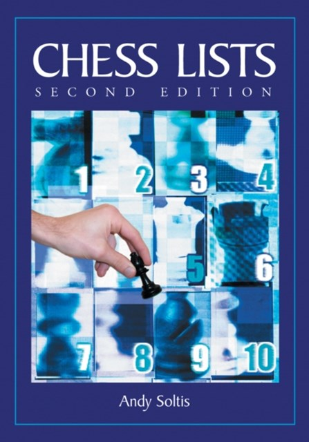 (ebook) Chess Lists, 2d ed.