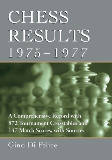 Chess Results, 1975-1977