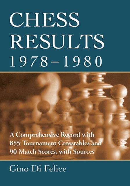 Chess Results, 1978-1980