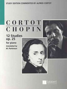 12 Etudes, Op. 25 by Frederic Chopin, Alfred Cortot, M. Parkinson (9781476899985) - PaperBack - Entertainment Music General
