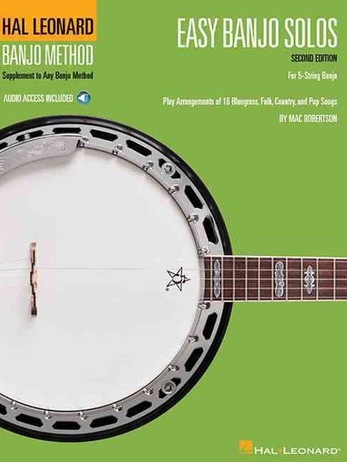 Easy Banjo Solos for 5-String Banjo